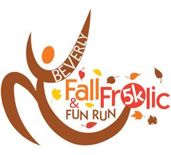 Logo and Identity Design Portfolio: Event Logo: Beverly Fall Frolic 5K Logo