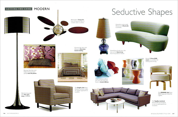Book Design Portfolio: Home and garden design book: Southern Rooms