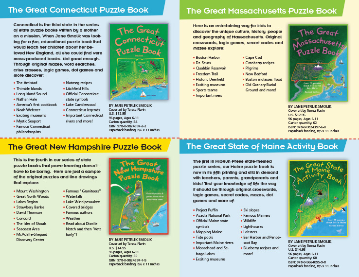 Program & Catalog Design: Children's Book Catalog : MidRun Press