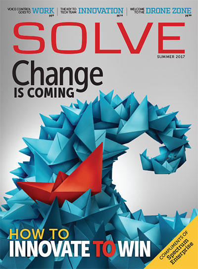 Magazine Design: SOLVE Magazine