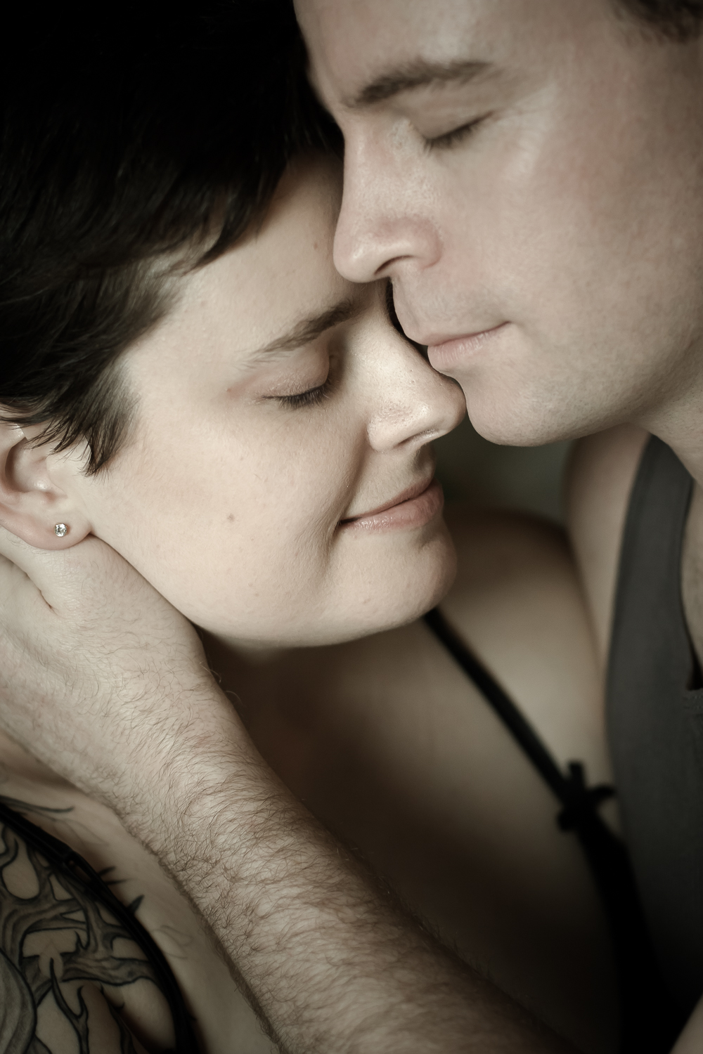 True Love | Main Line Philadelphia Couples Boudoir Photographer