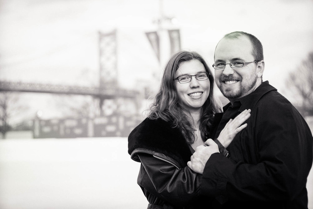 RiverRink | Main Line Philadelphia Engagement Photographer