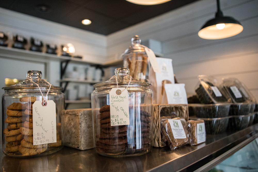Cafe Counter | Main Line Philadelphia Food Photographer