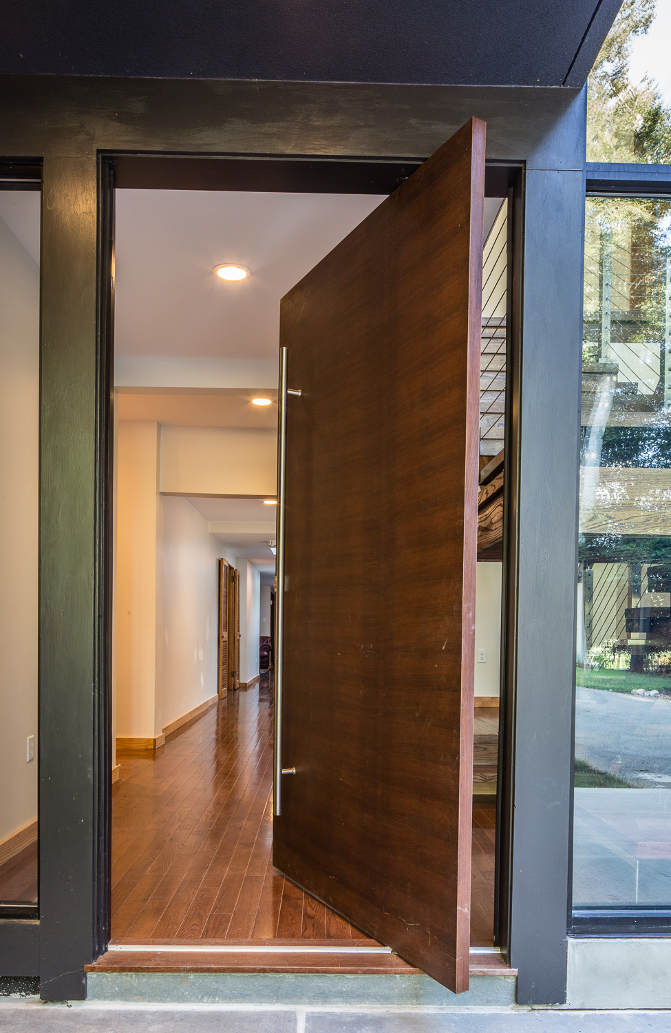 Modern Heavy Door & architecture u2014 Aliza Schlabach Photography