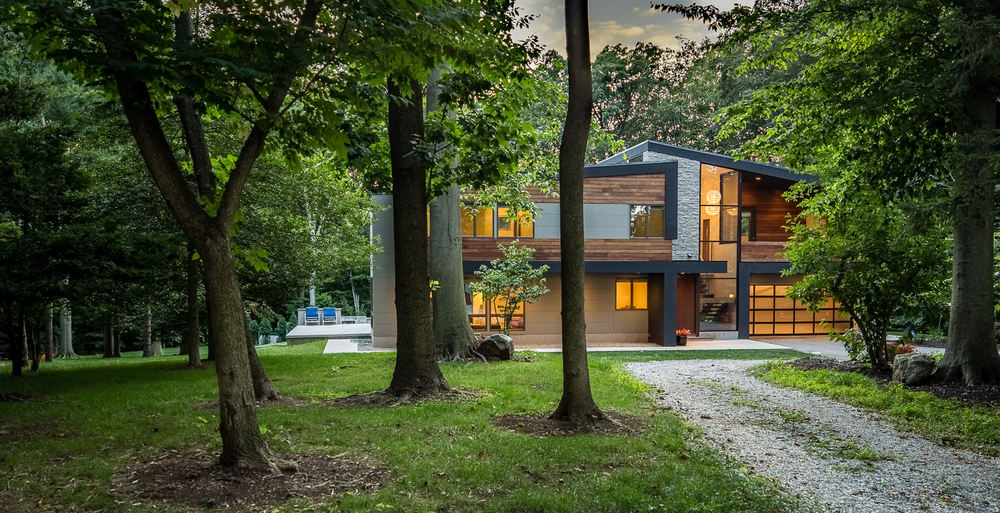 Photo of Modern Glowing Home in Villanova