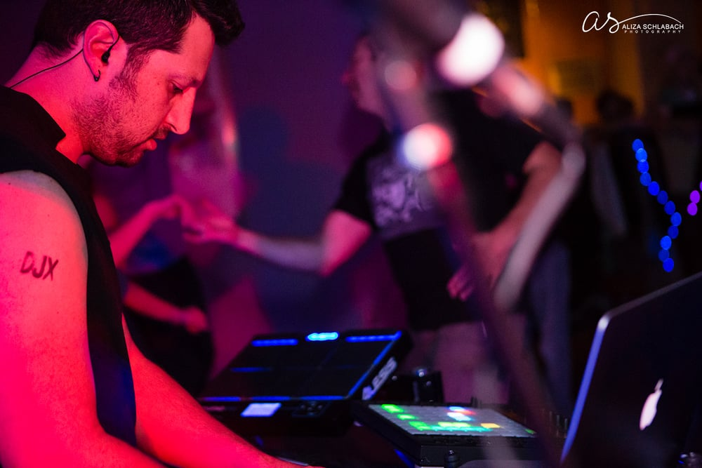 Photo of musician at DJX Fusion Dance Event in Philadelphia