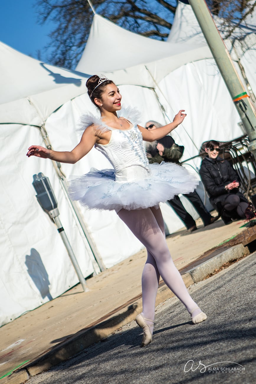 Event photo of dancer at the Cricket Cringle in Ardmore, PA - 2015
