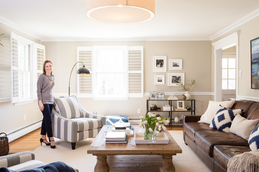 Interior designer Larina Kase in one of her beautiful rooms | Devon, PA | Main Line Philadelphia