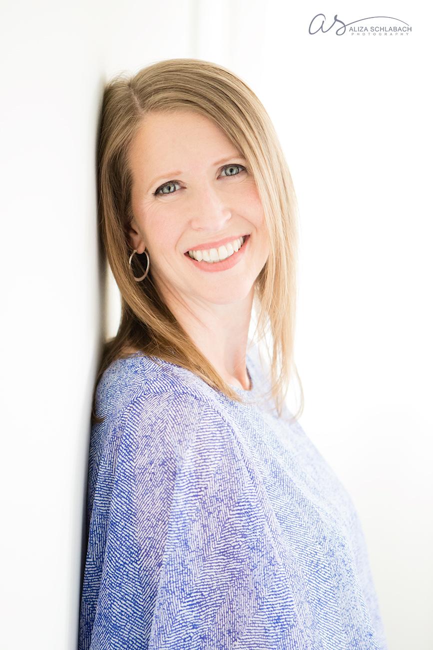Photograph: Headshot of a professional woman