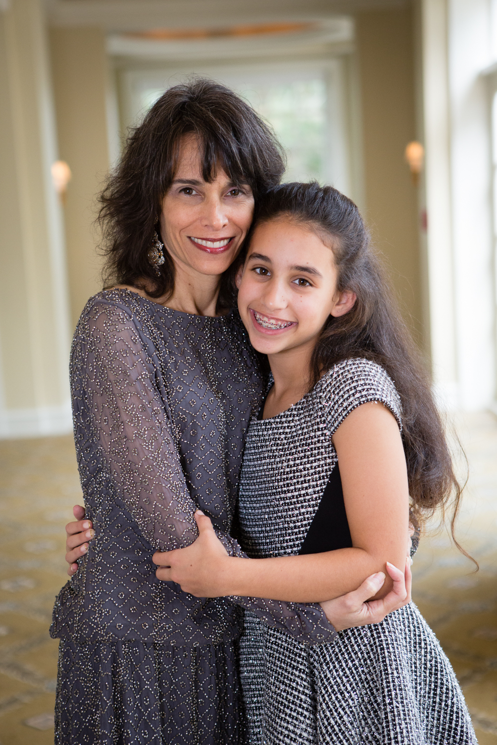 Photo of mother and daughter embracing