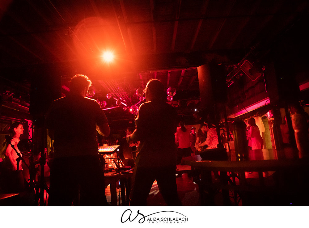 Another shot of DJ Emilio and lighting designer J Mundinger working magic at Fall DJX 2018