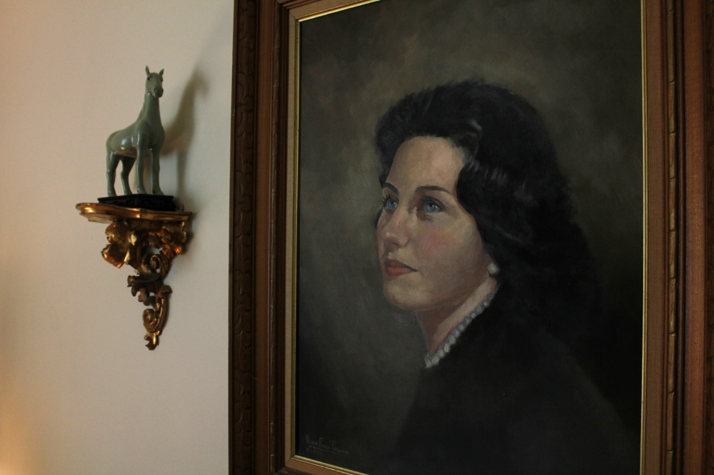 Painting of Patricia Pielli by Nina Irwin