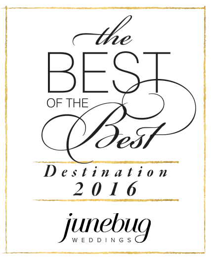 The best of the best destination junebug weddings