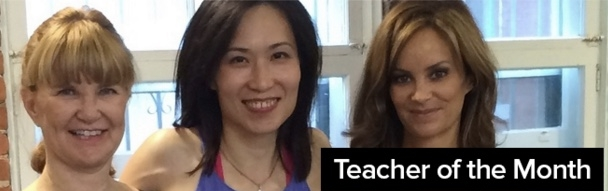 Betty is honored to be featured as Teacher of the Month (November 2015) based on her insights into the Essentrics technique! Read more here.