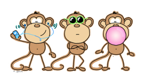 "Essentrics might look easy, but it isn't a ""monkey see, monkey do"" workout. Image: ClipArt"