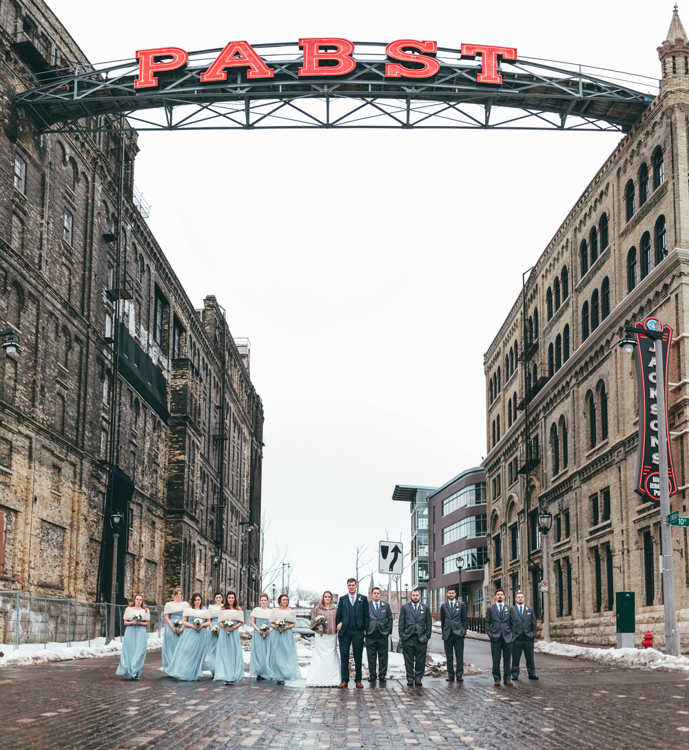 Wisconsin Wedding at Pabst Best Place