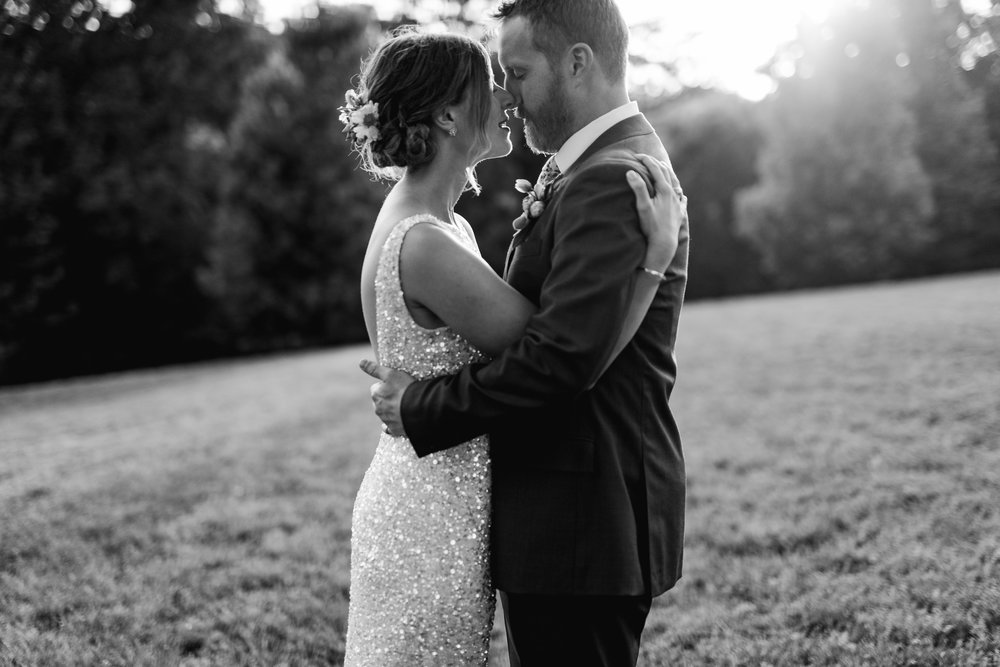 Romantic Nashville country wedding