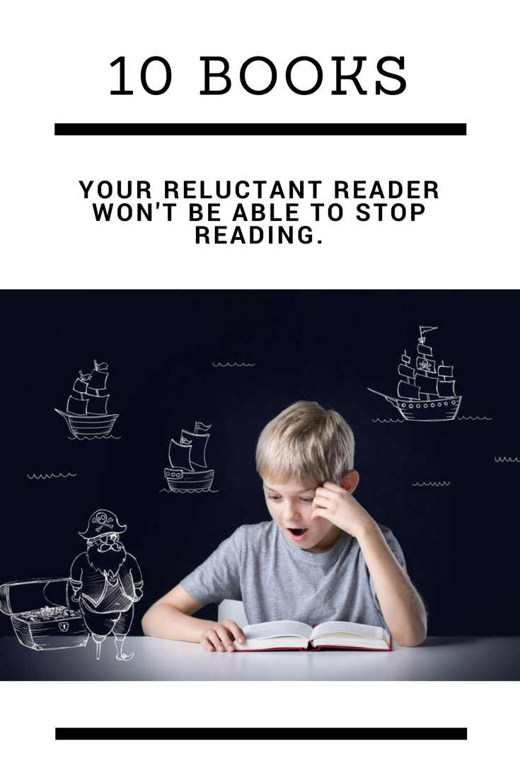 book suggestions for reluctant readers