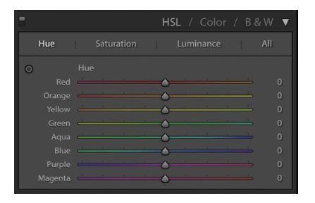 Lightroom HSL Panel Tips
