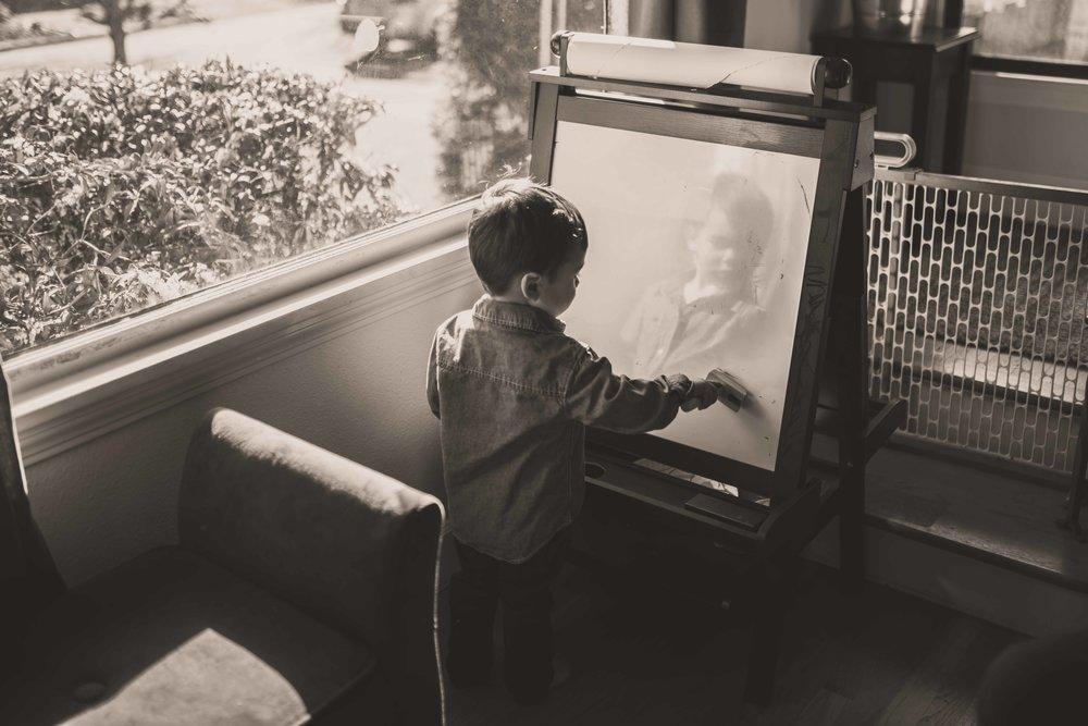 indoor family portraits in portland oregon