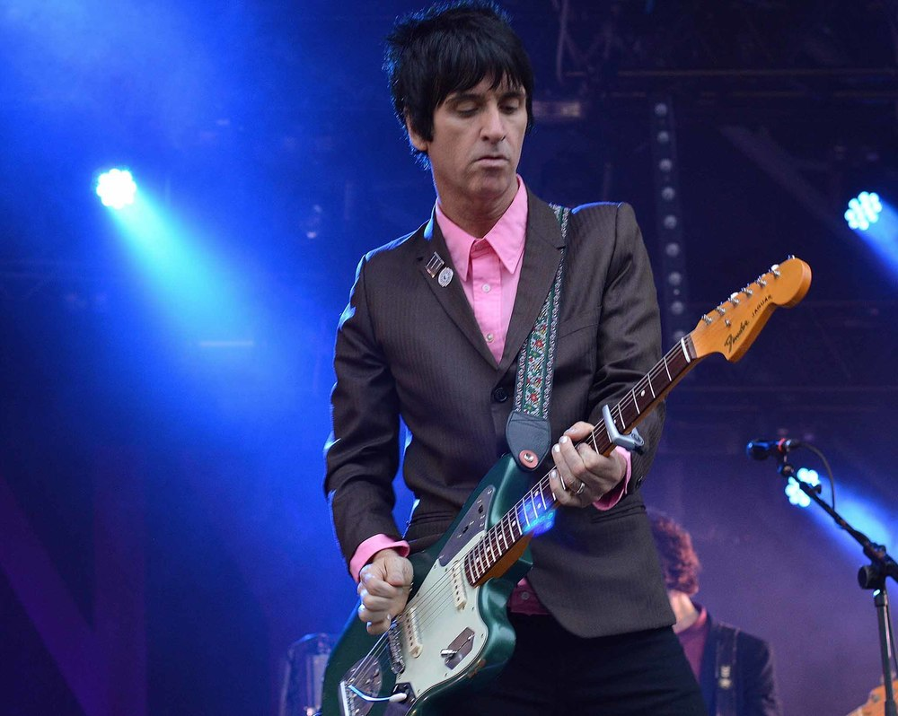 Johnny Marr Camp Bestival