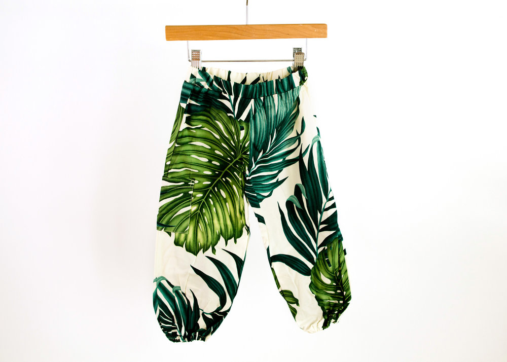 Coradorables Hawaii leaf unisex pant