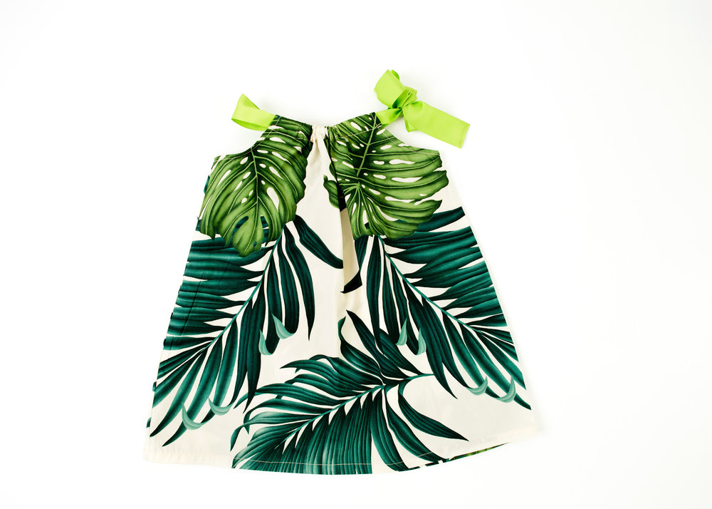 Coradorables Hawaii Leaf Ribbon Dress