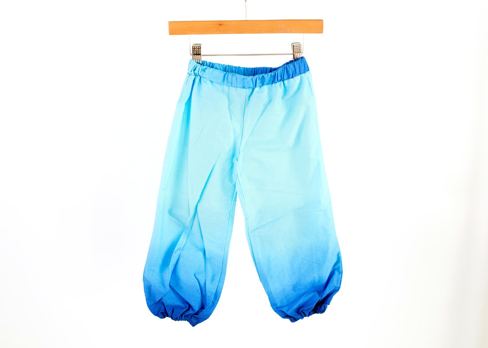 Coradorables Sea blue ombre pant unisex