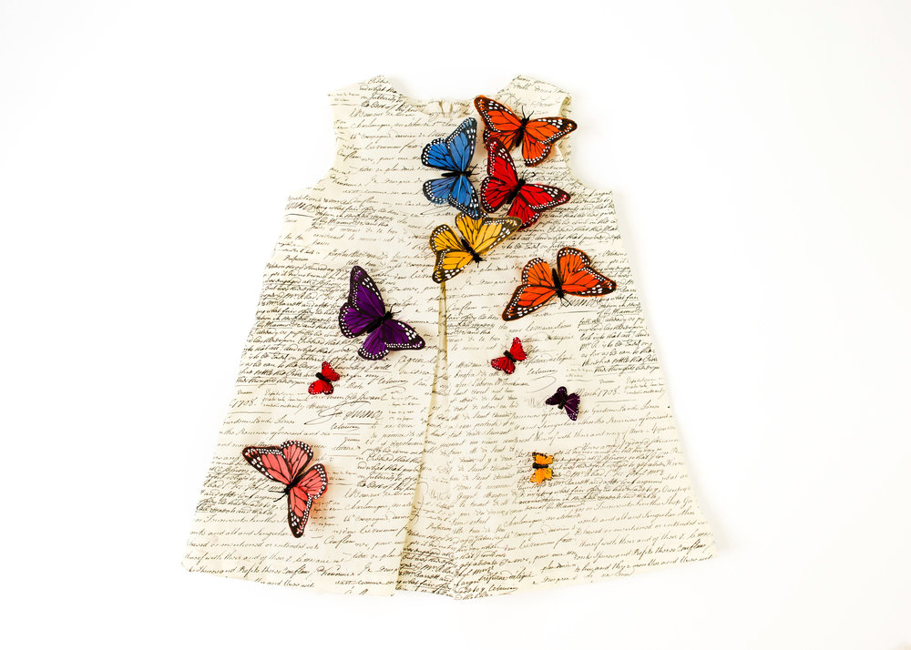 Coradorables ADD HERES ™ couture butterfly dress