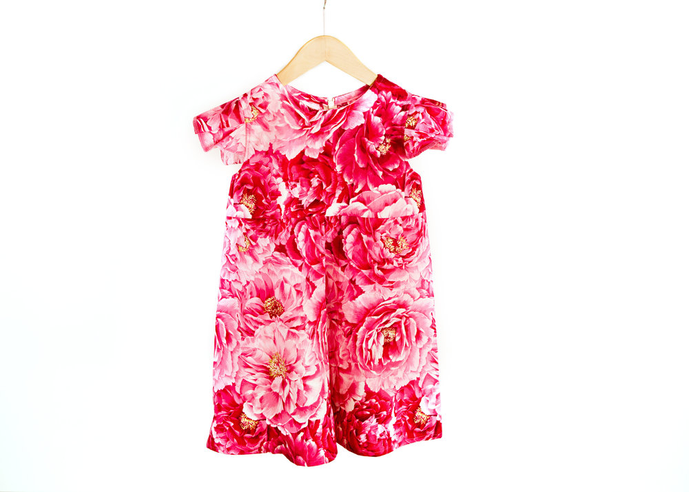 Coradorables Pink Peony Dress