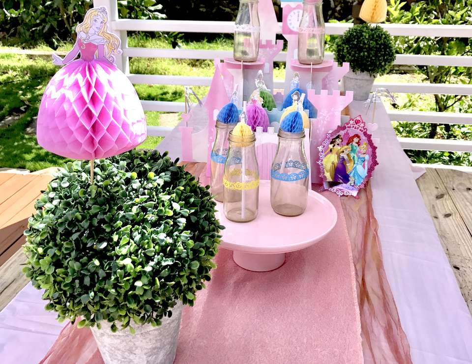 Zoe's 4th Birthday Disney Princess Party -