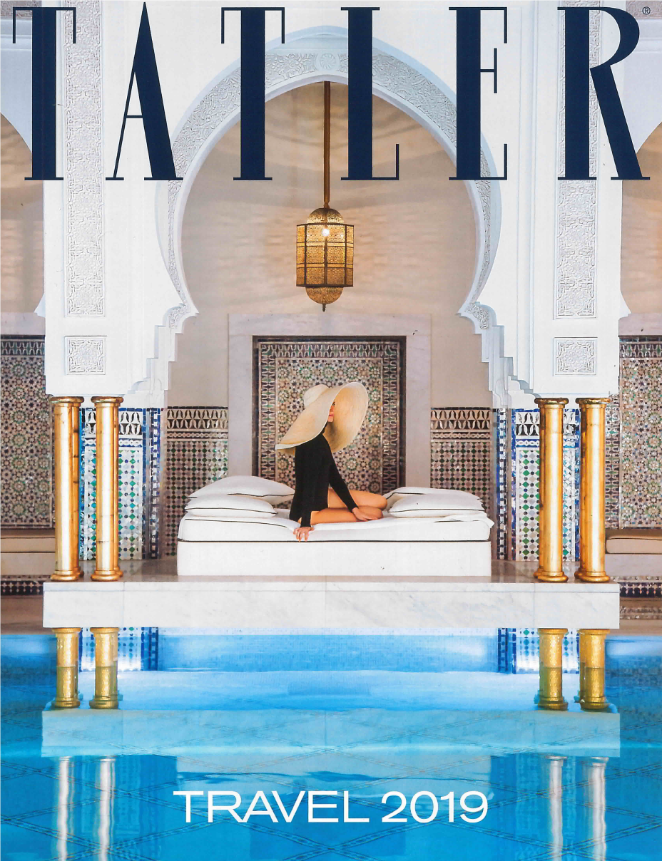Tatler Travel 2019 Cover