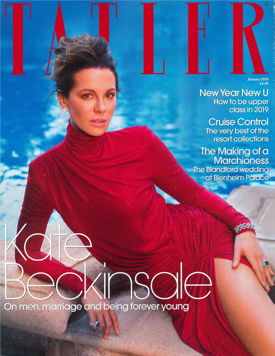 Tatler Jan. 2019 Cover