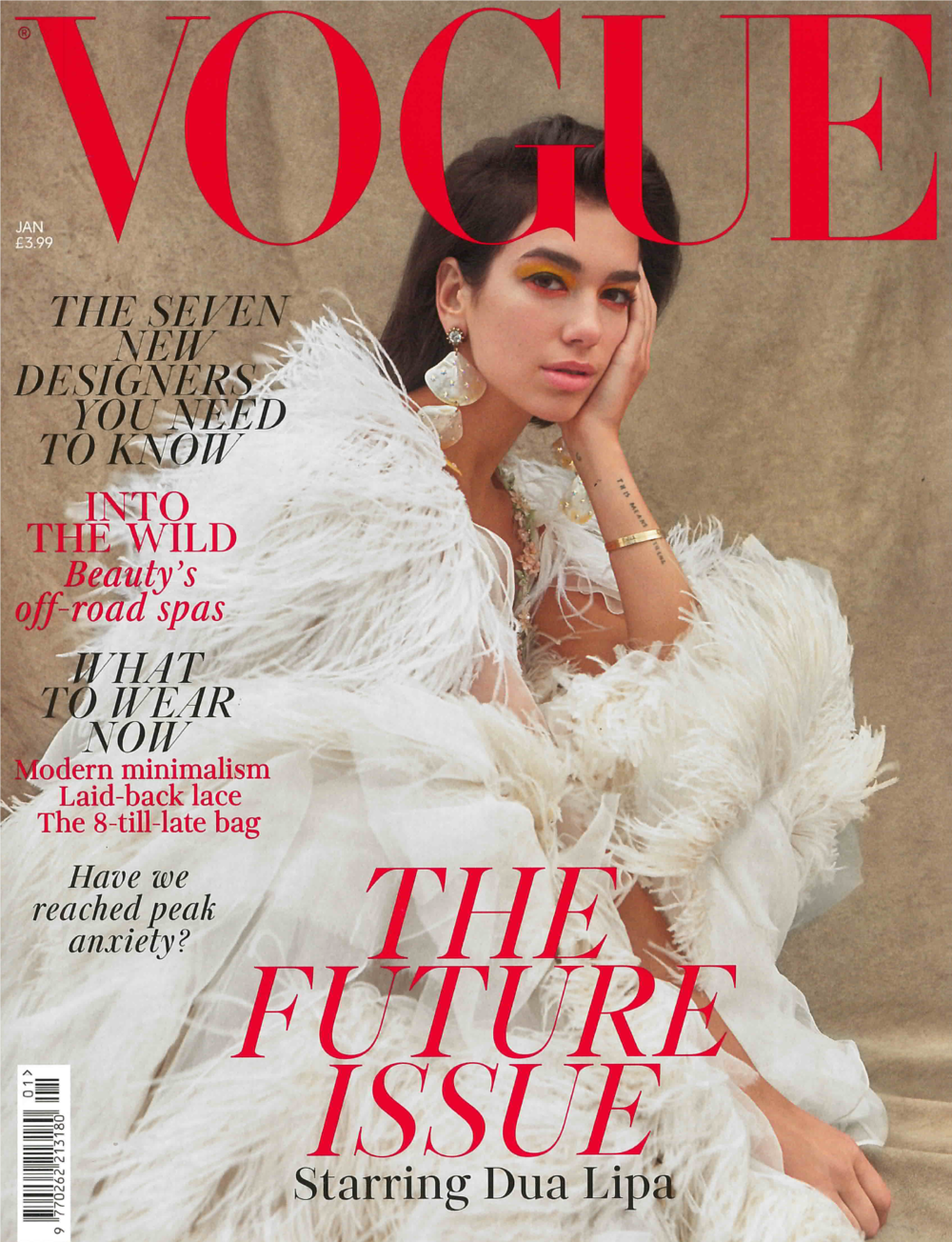 British Vogue Jan. 2019 Cover