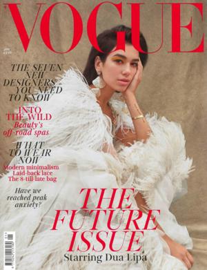 British Vogue Jan. 2019 Cover