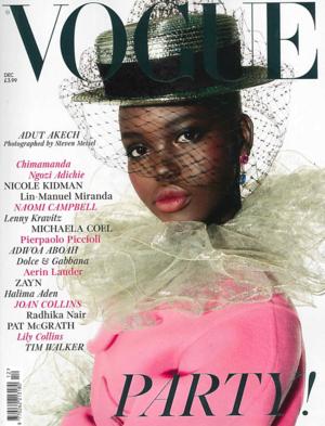 British Vogue Dec. 2018 Cover