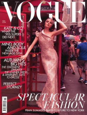 British Vogue Nov. 2018 Cover