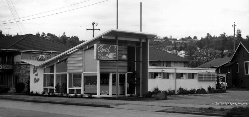 SPUD Greenlake, circa 1961.