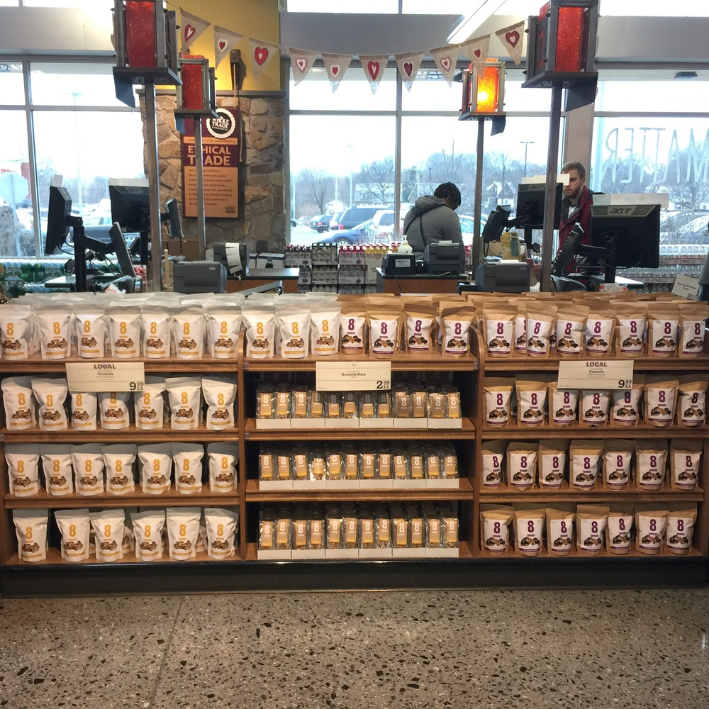 Our Display Front and Center at Whole Foods Market in Fairfield CT