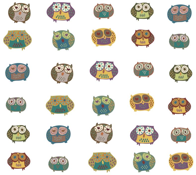 Tory Woollcott Owls
