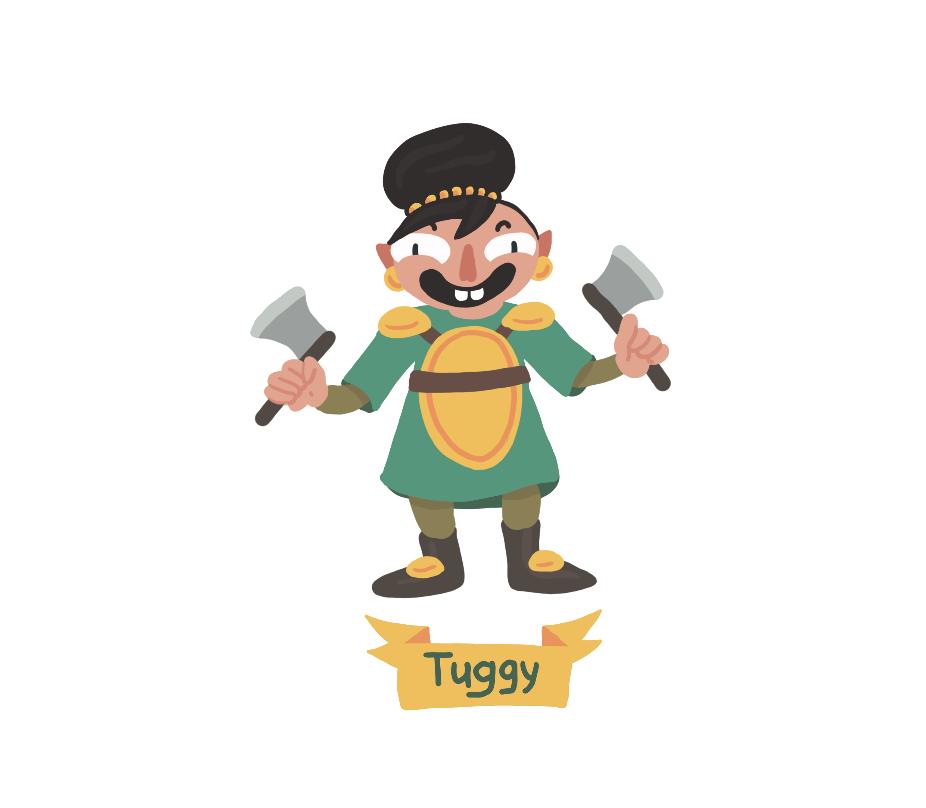 Tory Woollcott Danger Dice Gang Tuggy.png