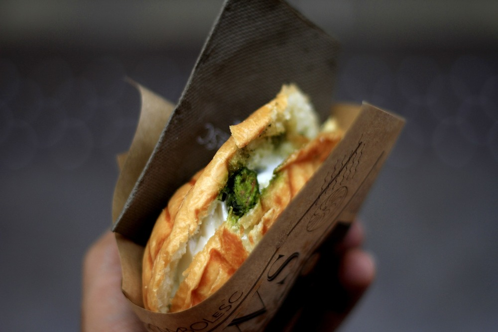 Spinach & Alderney Cheese Panini