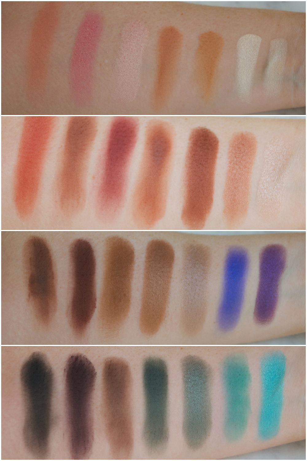 Swatches Jaclyn Hill Eyeshadow Palette | Morphe Brushes
