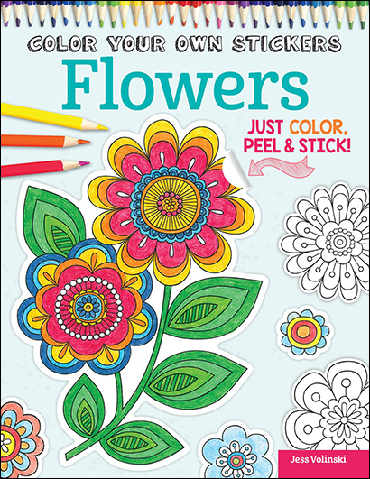 Color You Own Stickers: Flowers