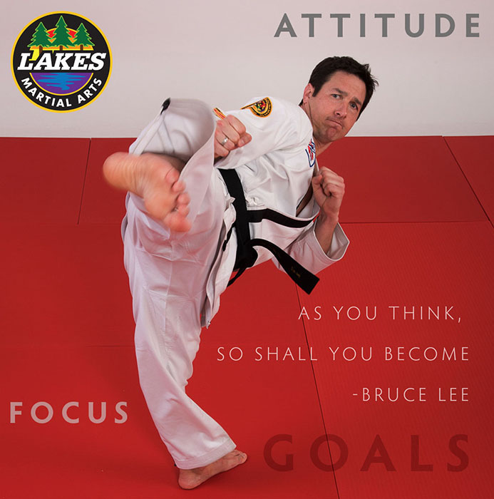 "Bruce Lee once said: ""As you think, so shall you become."" This is true for much in life… doing well in school, exceeding in the workplace, or competing at a tournament. It is all about attitude!"