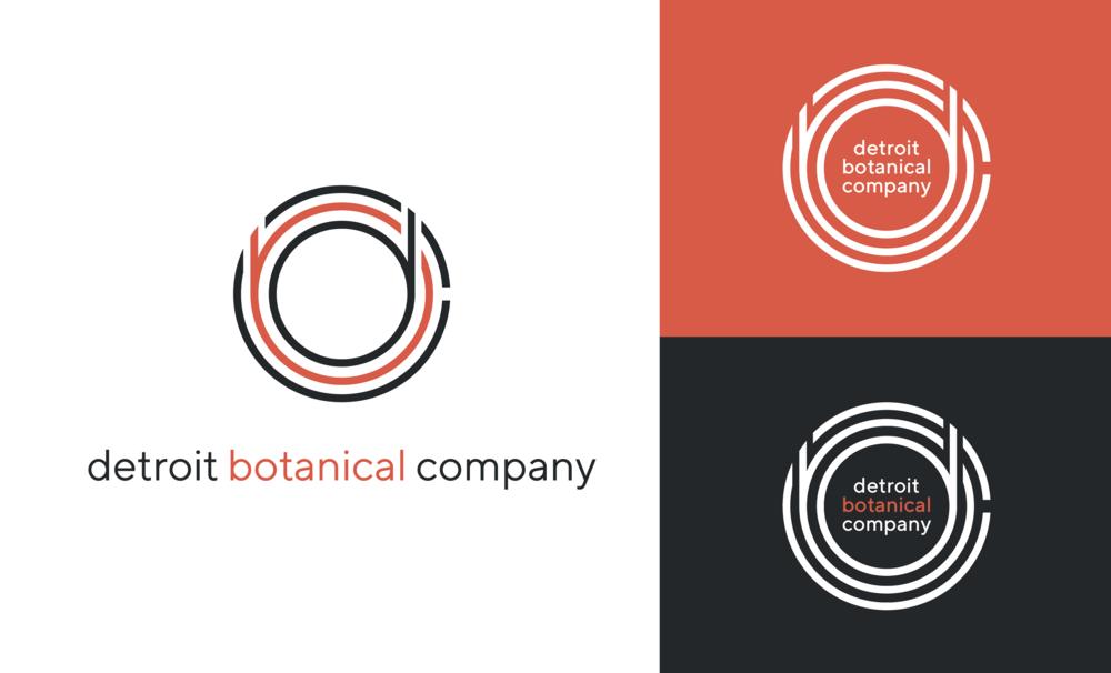 Detroit Botanical Company | Freelance project