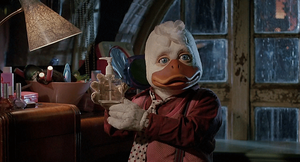 Howard the duck (copyright Walt Disney)