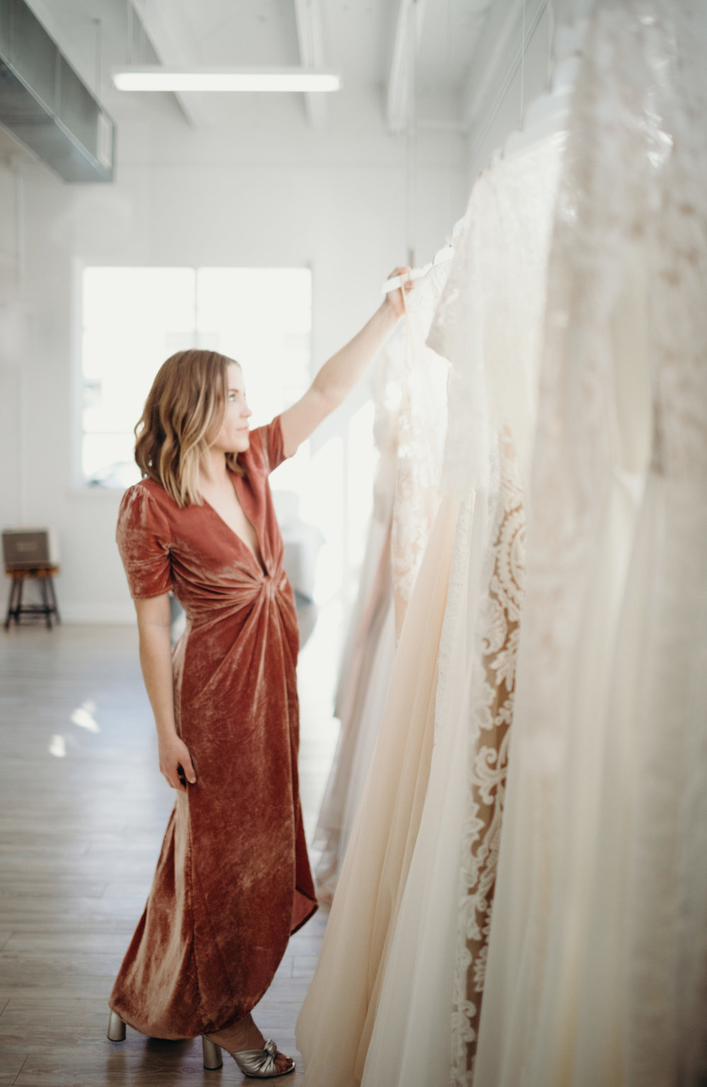 - HEY GUYS!AFTER WORKING FOR A BRIDAL DESIGNER & TRAVELING SO MUCH THAT NYC  PRETTY MUCH BECAME MY SECOND HOME. I FELL HARD FOR THE  MODERN SHOP MOVEMENT & COULDN'T WAIT TO BRING THE MOST UP & COMING, CREATIVE & PASSIONATE CITY AKA KC AN ALTERNATIVE TAKE ON BRIDAL.I CAN'T WAIT TO MEET YOU!   XX LAURA ROURKE ,  OWNER / CURATOR
