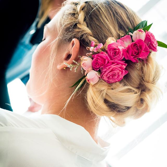 | the year of weddings | #braidedbunfun • • • • • • #braidstyles #updo #weddings #wedding #bun #upstyling #upstyle #braids #flowercrown #flowerstagram #stylist #sfstyle #hairstyles #hair #hairideas #hairstyle #bridal #bridetobe #bridehair #offsitewedding #blondehair #hotd #wedding #weddings #weddinghair #weddingday
