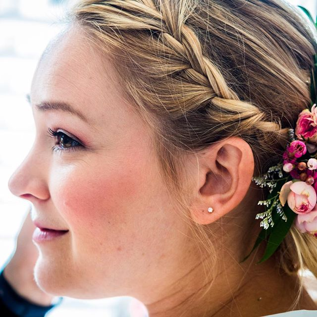 | Rachel was hands down the most beautiful bride. Thank you SO much for letting us be a part of your day 💗 | #weddingoftheday - • • • • • • #braidstyles #updo #weddings #wedding #bun #upstyling #upstyle #braids #flowercrown #flowerstagram #stylist #sfstyle #hairstyles #hair #hairideas #hairstyle #bridal #bridetobe #bridehair #offsitewedding #blondehair #hotd #wedding #weddings #weddinghair #weddingday #motd #makeup #portraitphotography